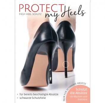 ProtectMyHeels I Stiletto I Black Edition I 1er-Pack
