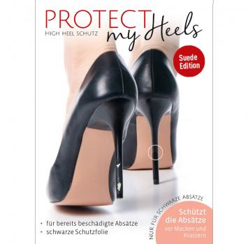 ProtectMyHeels I Stiletto I Black Edition Suede I 1-Pack