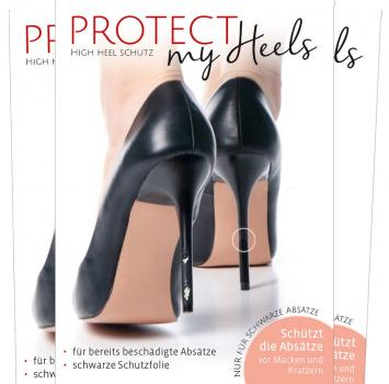 ProtectMyHeels I Stiletto I Black Edition I 3er-Pack