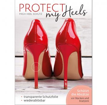 ProtectMyHeels I Stiletto I Transparent I 1er-Pack
